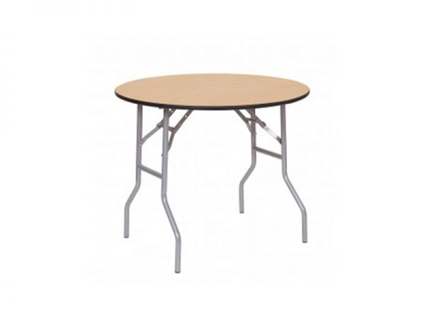 3 Ft. Wood Round Table-262×334
