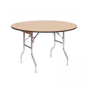 4-Ft.-Wood-Round--Table