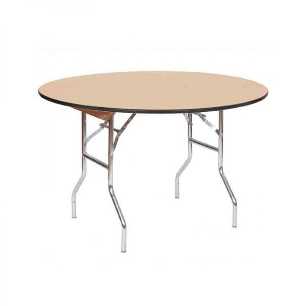 4-Ft.-Wood-Round–Table