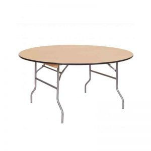 5-Ft.-Wood-Round-Table