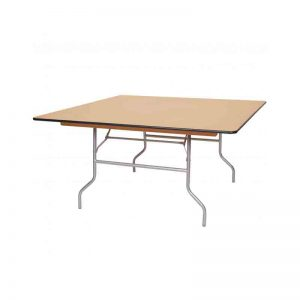5-Ft.-Wood-Square-Table