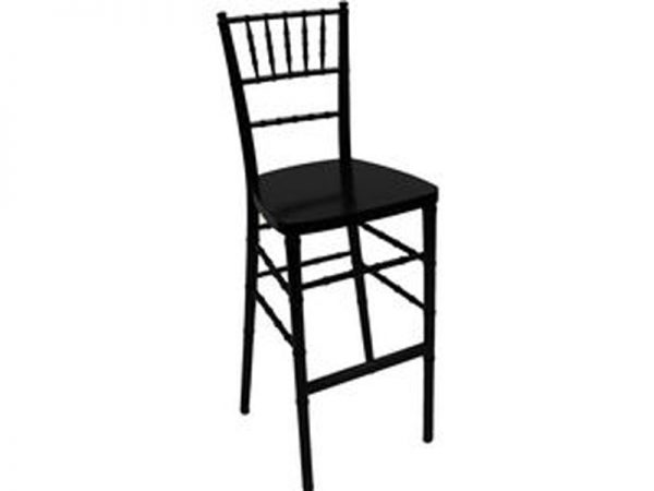 CHIVARI BLACK RESIN BARSTOOL