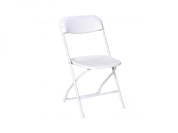 Chair Folding Plastic White-910×1155