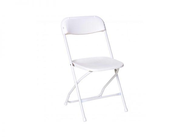Chair Folding Plastic White-910x1155