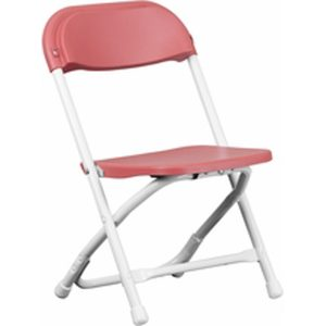Children_s Red Plastic Folding Chair