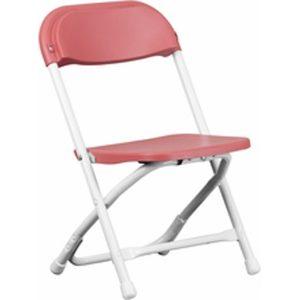Children_s Red Plastic Folding Chair