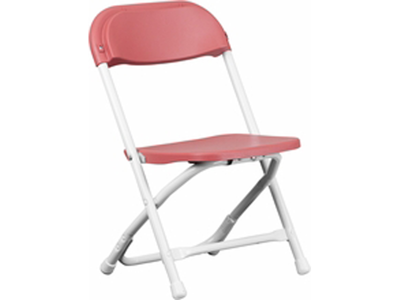 Red Children S Plastic Folding Chair Aaa Party Rentals