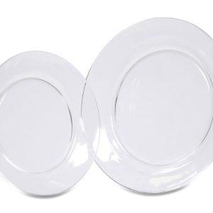 Clear Round Dinnerware 0P3A7905