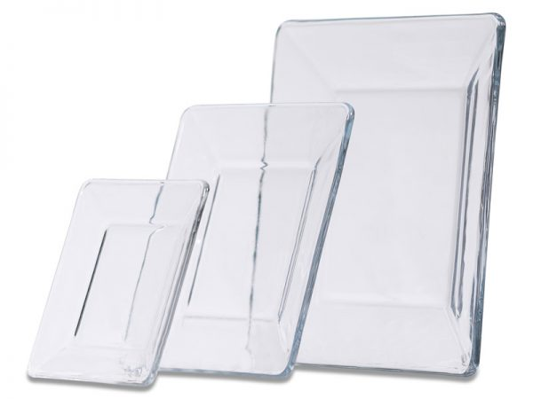 Clear Square Dinnerware 0P3A7894