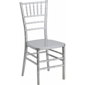 Resin Silver Chiavari Chair