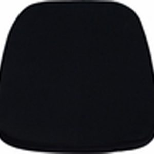 Soft Black Chiavari Chair Cushion