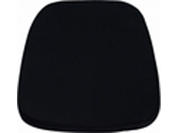 Soft Black Chiavari Chair Cushion