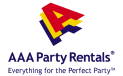 AAA Party Rentals, serving Washington DC, Maryland and Virginia. Rental for parties, business, meetings, weddings, picnics and more.